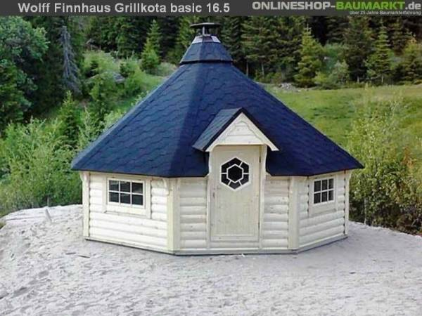 Wolff Finnhaus Grillkota Basic 17 DS rot