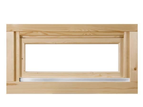 Wolff Finnhaus Kipp-Fenster Pulti 34 Klarglas