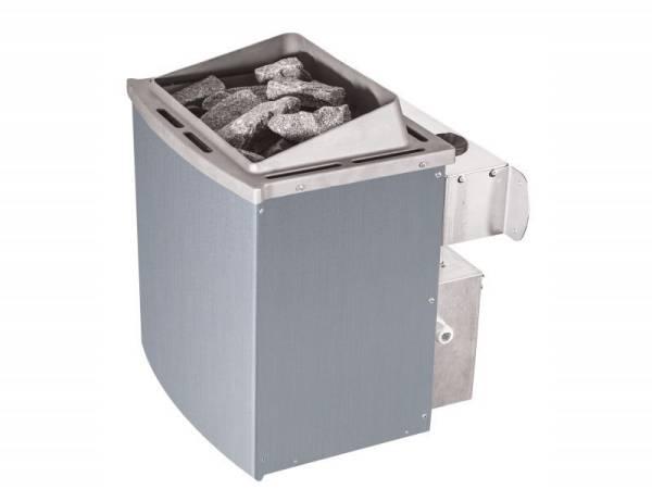 Wolff Finnhaus Saunaofen 9 kW integrierte Steuerung mit Steinen